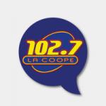 Logo da emissora Radio La Coope 102.7 FM