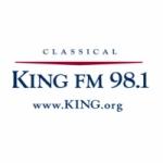 Logo da emissora Radio KING 98.1 FM