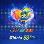 Logo da emissora Rádio Xodó 88.5 FM