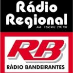Logo da emissora Rádio Regional 1360 AM