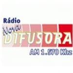 Logo da emissora Rádio Nova Difusora 1570 AM