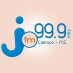 Logo da emissora Rádio Difusora jota FM 99.9