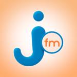 Logo da emissora Rádio Jota 99.5 FM