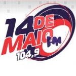 Logo da emissora Rádio 14 de Maio FM 104.9