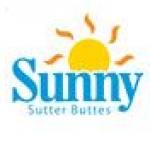 Logo da emissora KMJE 105.1 FM Sunny