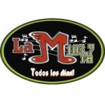 Logo da emissora Radio KMLA 103.7 FM