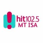 Logo da emissora Radio Hit 102.5 Mt Isa