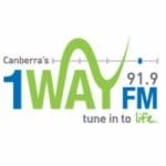 Logo da emissora Radio 1 Way 91.9 FM