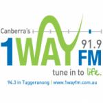 Logo da emissora Radio 1Way 91.9 FM
