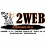 Logo da emissora Radio 2WEB Outback 585 AM