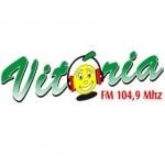 Logo da emissora Rádio Vitória 104.9 FM