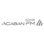 Logo da emissora Rádio Acaban 104.9 FM