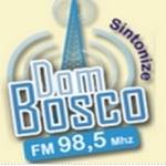 Logo da emissora Rádio Dom Bosco 98.5 FM