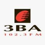 Logo da emissora Radio 3BA 102.3 FM