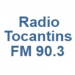 Logo da emissora Radio Tocantins 90.3 FM