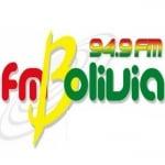 Logo da emissora Radio Bolivia 94.9 FM