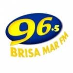 Logo da emissora Rádio Brisa Mar 96.5 FM