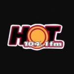 Logo da emissora Radio Hot 104.1 FM