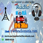 Logo da emissora Web Rádio Moriá