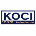 Logo da emissora Radio KOCI 101.5 FM