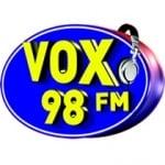 Logo da emissora Rádio Vox 98 FM