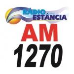 Logo da emissora Rádio Estância 1270 AM