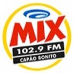 Logo da emissora Rádio Mix 102.9 FM