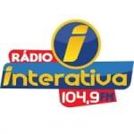 Logo da emissora Rádio Interativa 104.9 FM