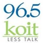 Logo da emissora KOIT 96.5 FM