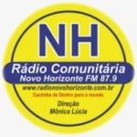Logo da emissora Rádio Comunitária Novo Horizonte 87.9 FM