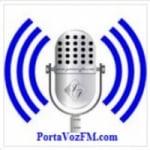 Logo da emissora Rádio Porta Voz FM