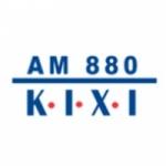 Logo da emissora KIXI 880 AM