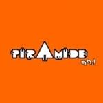 Logo da emissora Rádio Pirâmide 99.1 FM