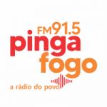Logo da emissora Rádio Pinga Fogo 91.5 FM