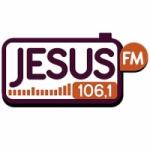 Logo da emissora Rádio Jesus 106.1 FM