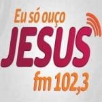 Logo da emissora Rádio Jesus 102.3 FM