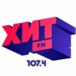 Logo da emissora Radio Hit 107.4 FM