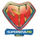 Logo da emissora Rádio Super Nova 101.9 FM