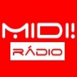 Logo da emissora Rádio MIDI