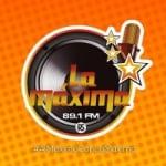 Logo da emissora Radio La Máxima 89.1 FM
