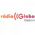 Logo da emissora Rádio Globo 1140 AM