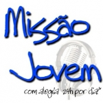 Logo da emissora Rádio Missão Jovem