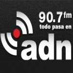 Logo da emissora Radio ADN 91.7 FM