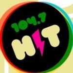 Logo da emissora Radio Hit 104.7 FM