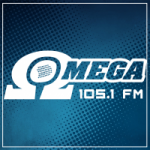 Logo da emissora Radio Omega 105.1 FM