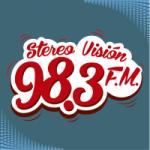 Logo da emissora Radio Stereo Visión 98.3 FM