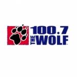 Logo da emissora KKWF 100.7 FM