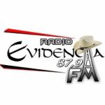 Logo da emissora Rádio Evidência 87.9 FM