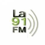 Logo da emissora Radio La 91 91.5 FM