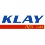 Logo da emissora KLAY 1180 AM